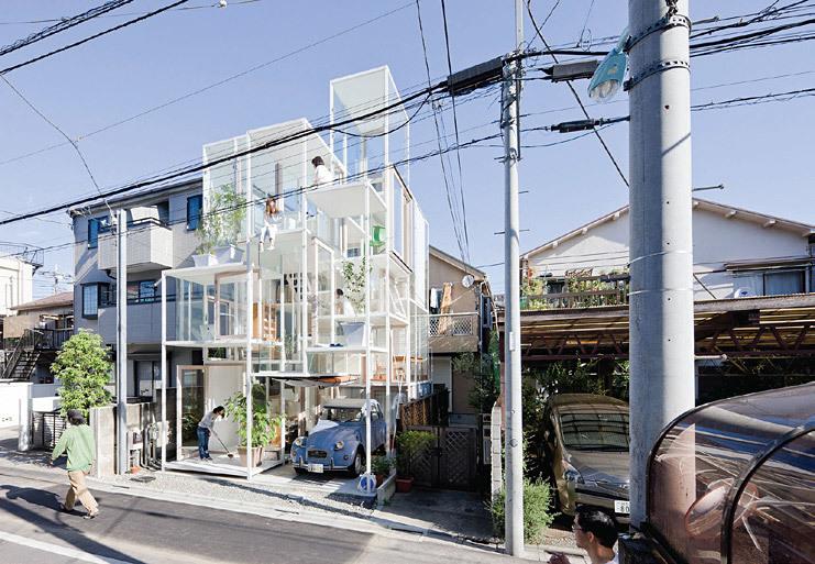 Sou Fujimoto Architects, with House like a single Tree, Tokyo, Japan