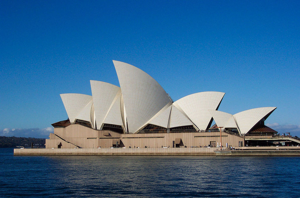 """""""...There are few urban projects of any scale that haven't felt the Arup influence,"""" writes Wainwright. Pictured is the Sydney Opera House, via wikimedia.org"""