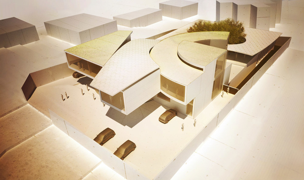 Swiss Clockwork Embassy in Yaoundé, Cameroon by Matteo Cainer Architects Ltd (Image: Matteo Cainer Architects Ltd)