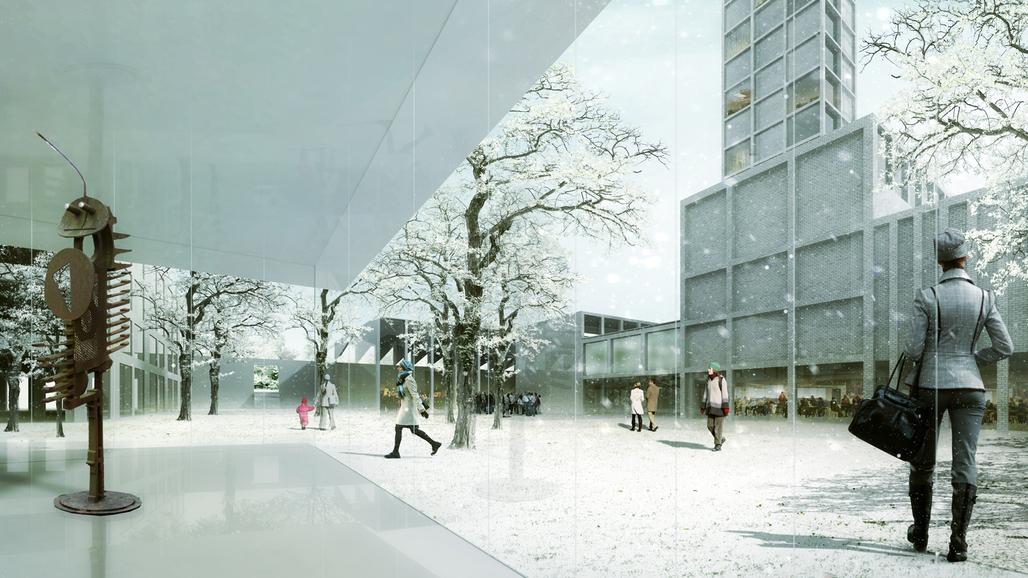"""Interior of """"Hortus conclusus"""". Image: alvarez ouburg architects"""