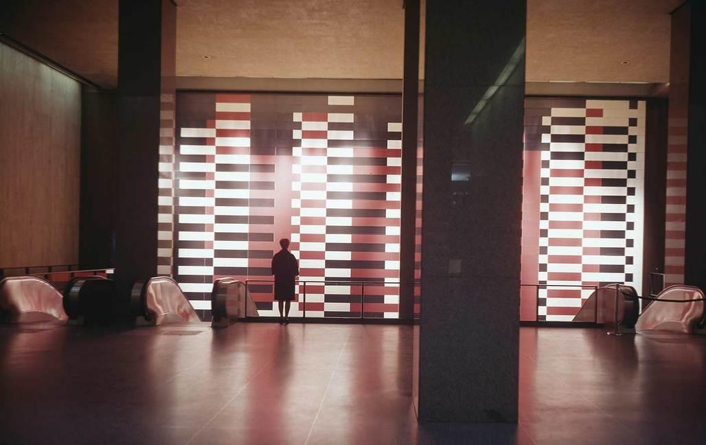 Josef Albers' Manhattan in the Pan Am Building (via theartnewspaper.com)