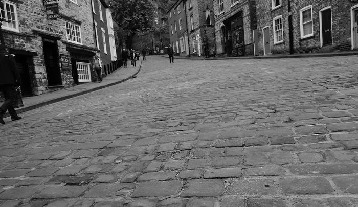 First Prize: Sophia Bannert: Daunting Steep hill, taken from a wheelchair perspective
