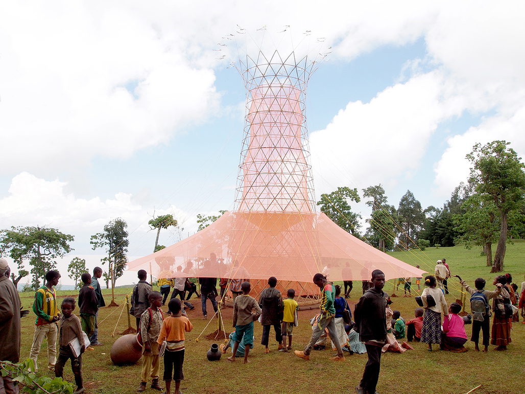 Warka Water designed by Arturo Vittori. Nominated in the Architecture category.