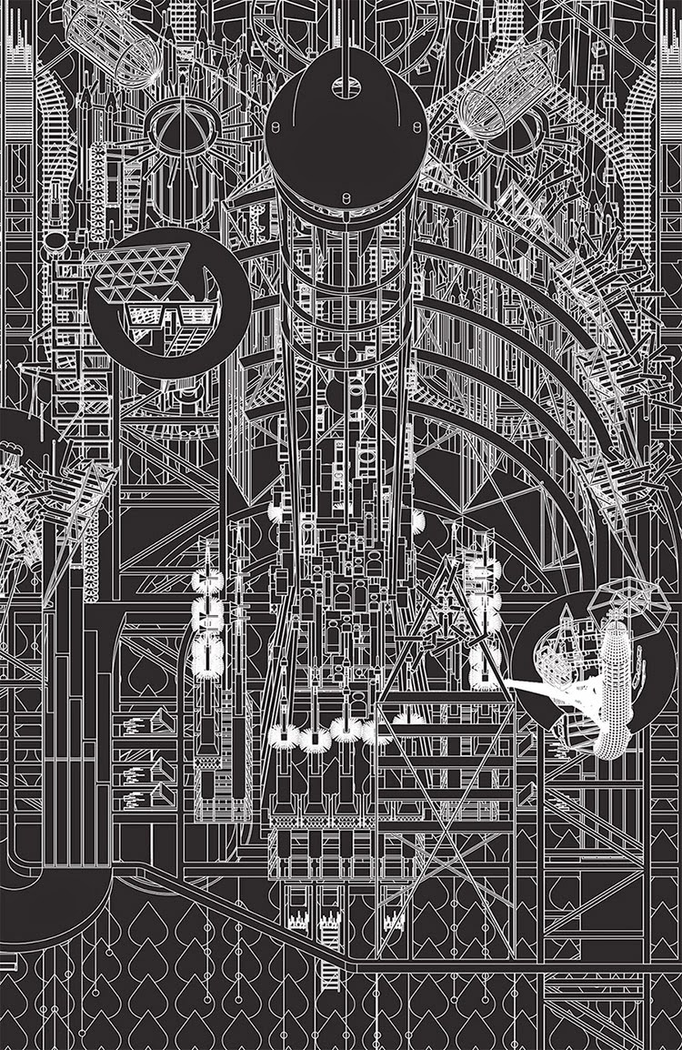 Detail of Grimm City by Flea Folly Architects. (Image via BLDGBLOG)
