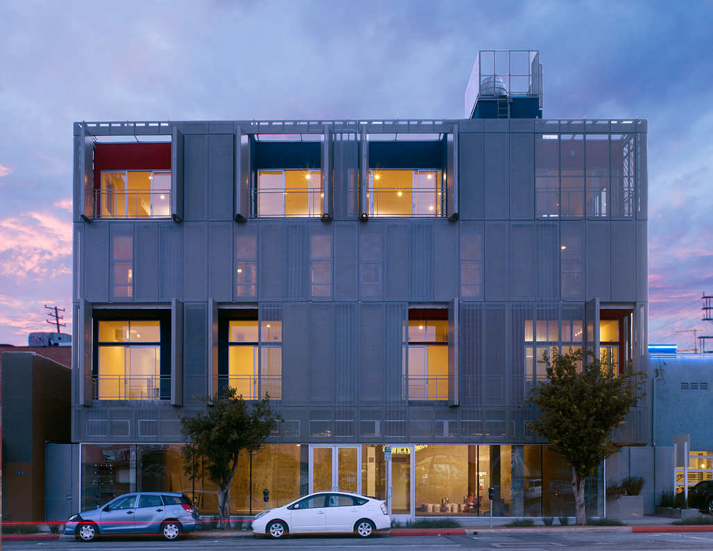 "The Lofts at Cherokee Studios in LA, CA. Designed by Brooks+Scarpa. Principal Lawrence Scarpa is this year's ""Gold Medal"" recipient."