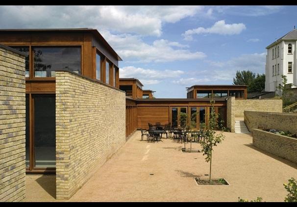Alzheimer's Respite Centre by Niall McLaughlin. Photo by Nick Kane. Image via architectsjournal.co.uk.