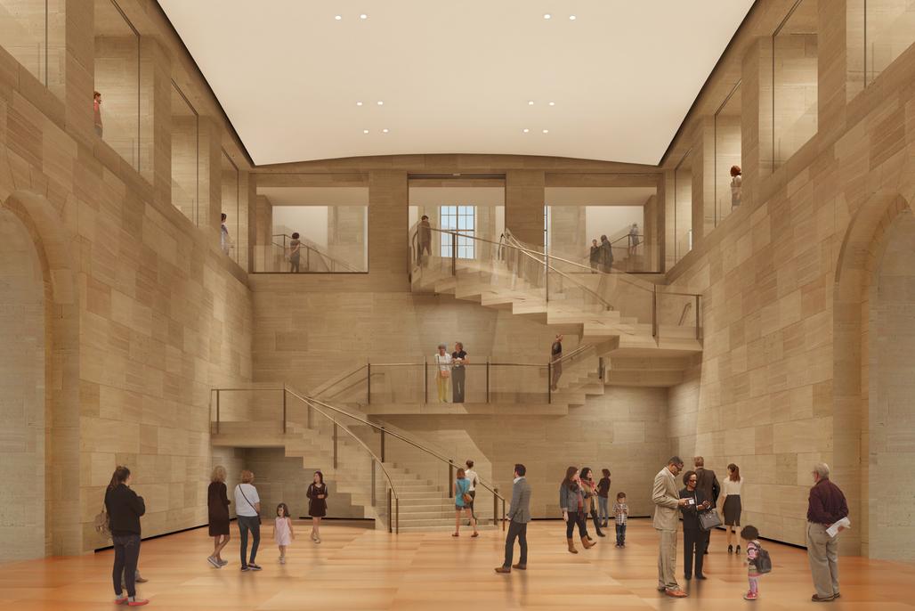 Image: Philadelphia Museum of Art / Gehry Partners LLP