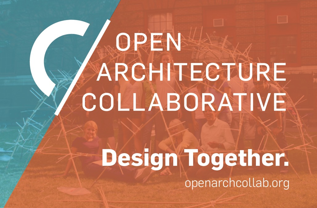 The newly launched OAC's logo, motto, and outlook. Image: Open Architecture Collaborative.