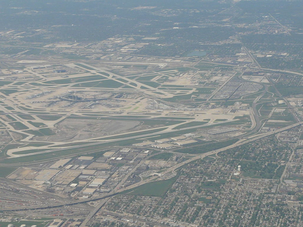 Chicago mayor Rahm Emanuel hopes that a sixth parallel runway will ease delays and win back the coveted title of America's busiest airport by passenger traffic (which went to Atlanta International Airport in 1998). Image via Wikipedia.