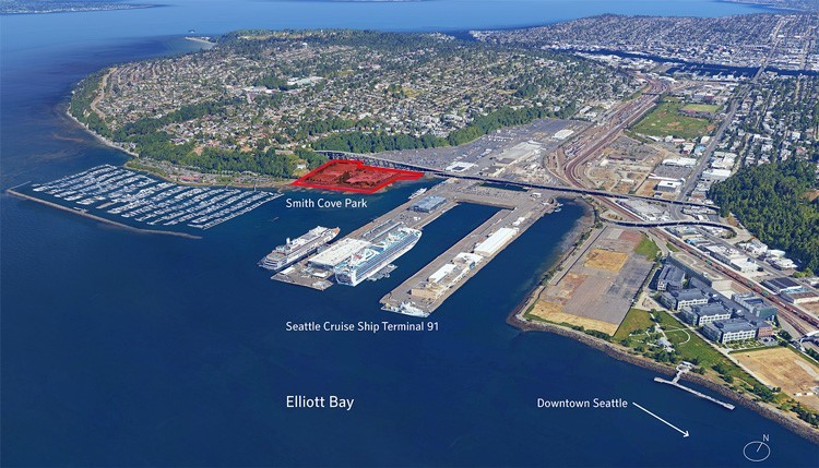 GGN is leading the design for Smith Cove Park on Seattle's waterfront. (Image credit: GGN)
