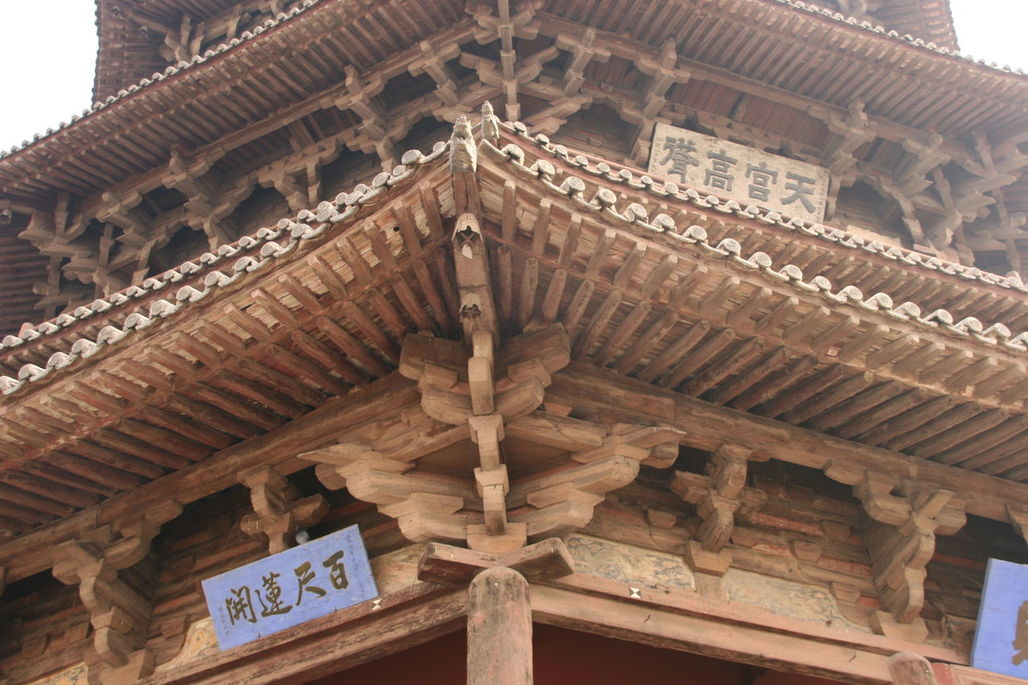 Dougong structure used in Yingxian Wooden Pagoda