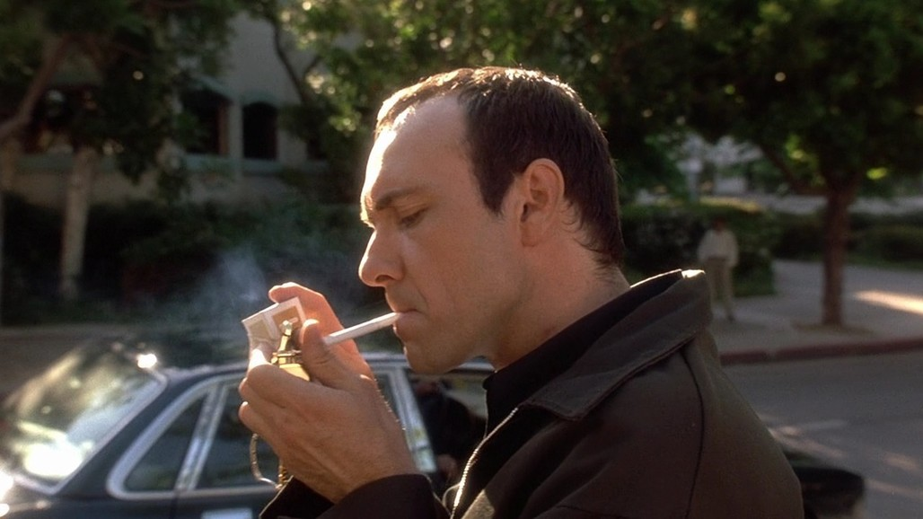"""Spoiler alert: Kevin Spacey is Keyser Soze. Screenshot from """"The Usual Suspects,"""" courtesy 3brothersfilm.com."""