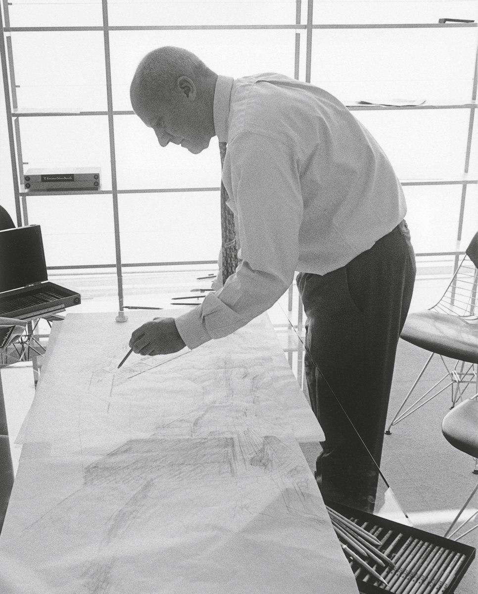 Norman Foster © Rudi Meisel. Image courtesy of Arquitectura Viva