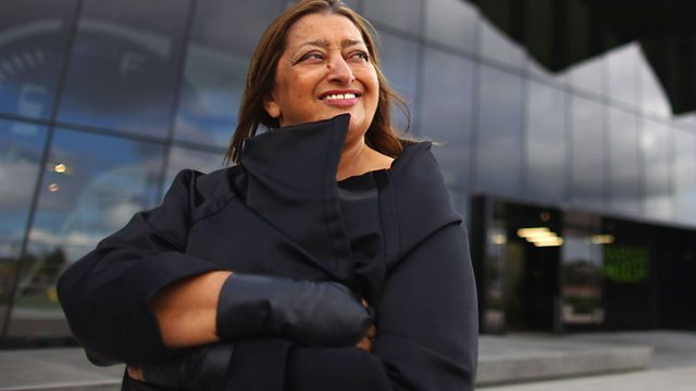 Zaha Hadid, image via bbci.co.uk.