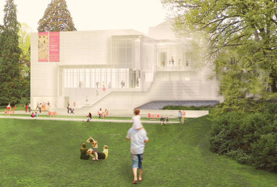 Rendering of LMN's expansion, courtesy of the Seattle Art Museum/LMN Architects.
