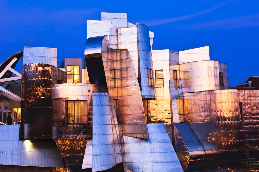 Gehry's Frederick R Weisman Art Museum, Minneapolis