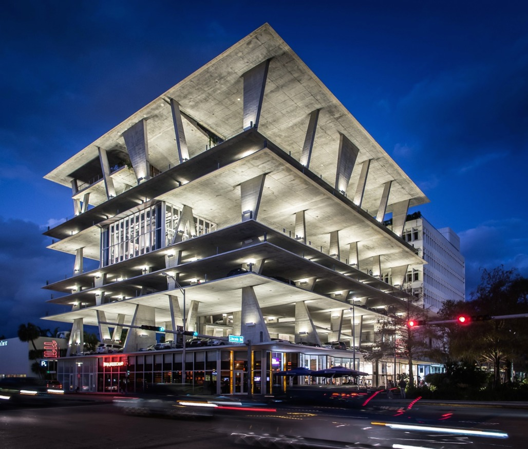 """1111 Lincoln Road by Herzog & de Meuron (credit: <a href=""""http://georgexlin.com/2013/02/1111-lincoln-road-miami-by-herzog-de-meuron/"""">George X. Lin</a>)"""