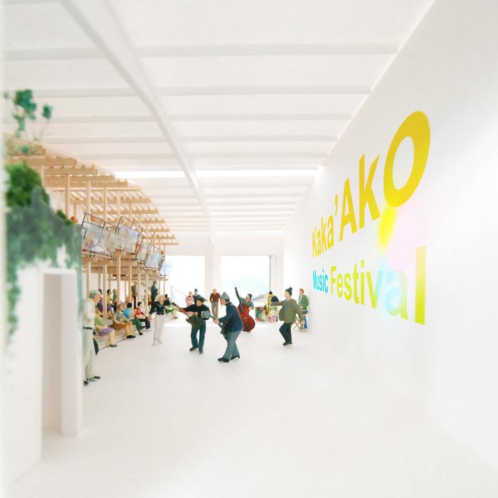 Kaka'ako Agora by Interisland Terminal and Atelier Bow-Wow.