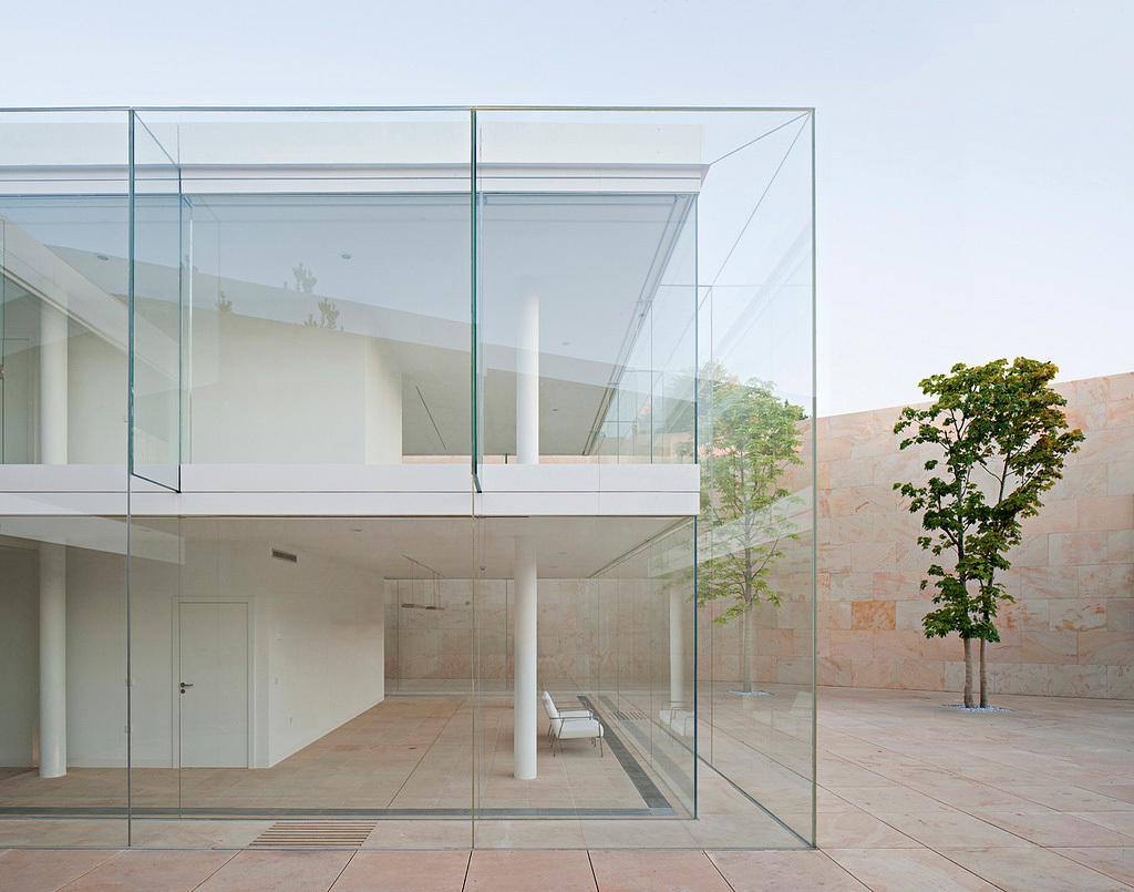 Alberto Campo Baeza, 2013 winner of the Arnold W. Brunner Memorial Prize in Architecture: Offices for Junta Castilla León in Zamora, Spain (Photo: Javier Callejas)