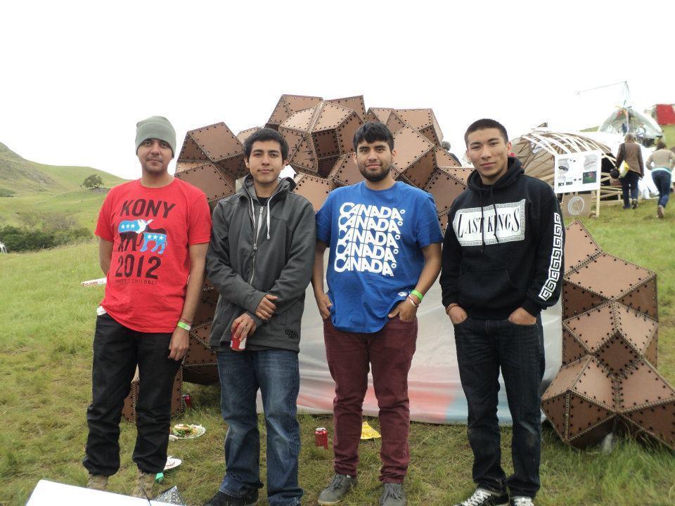 NSAD winning team members from the 2012 Cal Poly Design Village competition are (left to right) Antonio Barragan, Ramiro Martinez, Gonzalo Hernandez, Luis Valdovinos.
