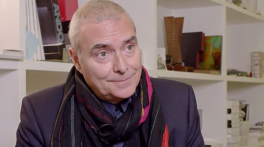 Dominique Perrault. Screenshot via YouTube.