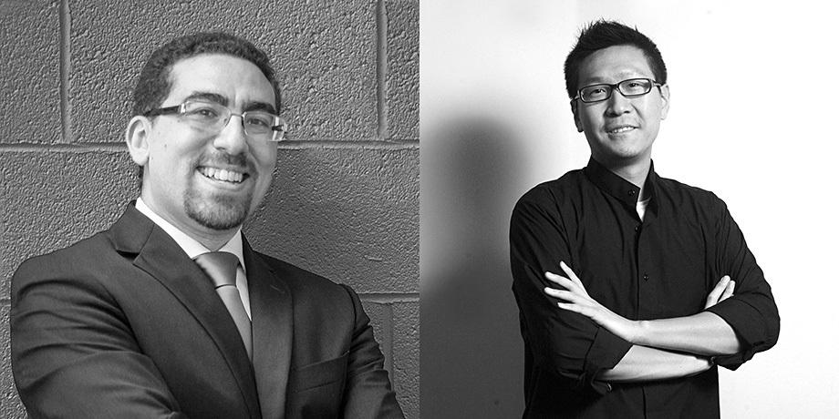 Tarek Rakha and Fei Wang. Image courtesy Syracuse Architecture.