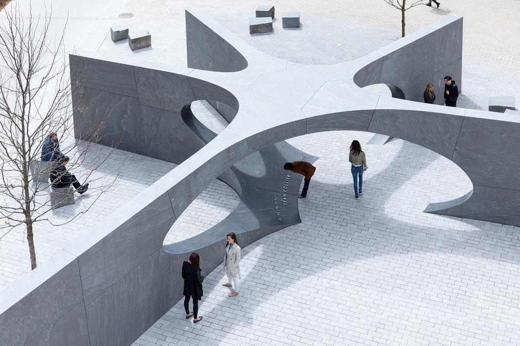 MIT Collier Memorial by Höweler + Yoon. Photo © Iwan Baan.
