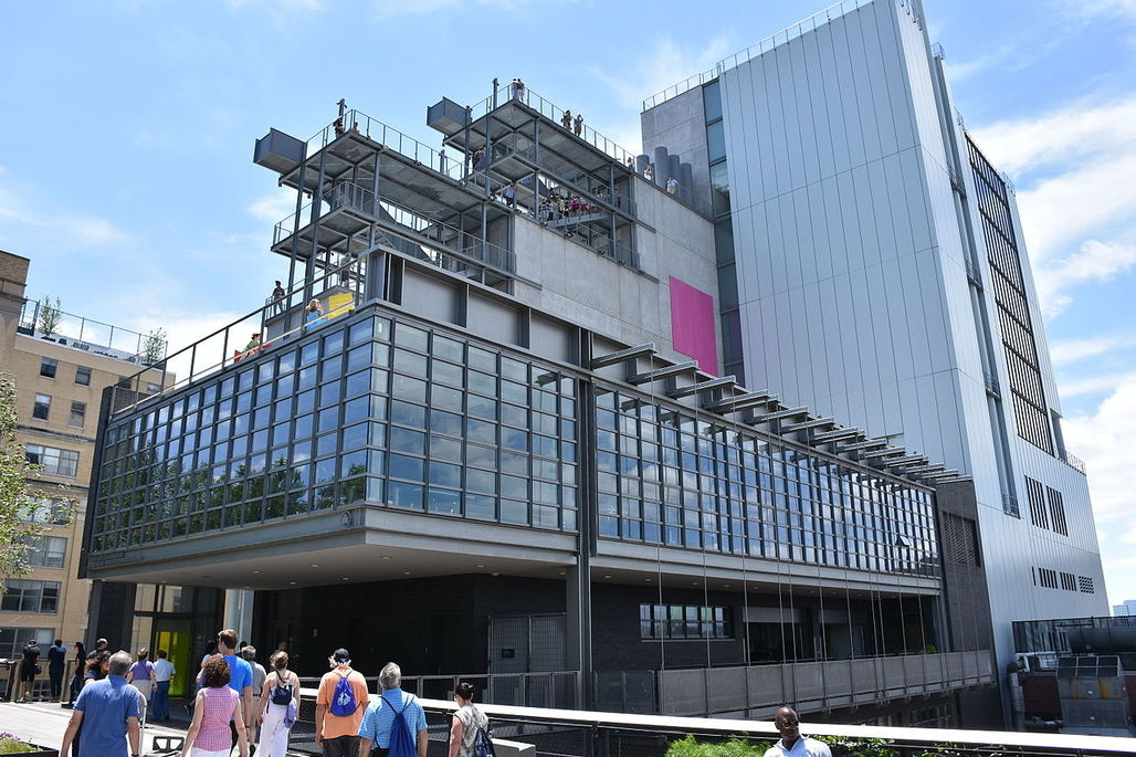 The new RPBW-designed home of the Whitney Museum of American Art, as seen from the High Line. Image via Wikipedia.