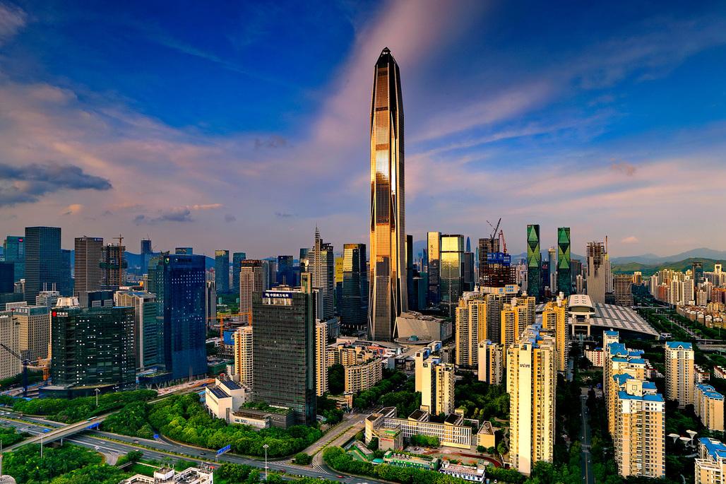 Image © Ping An Finance Center.