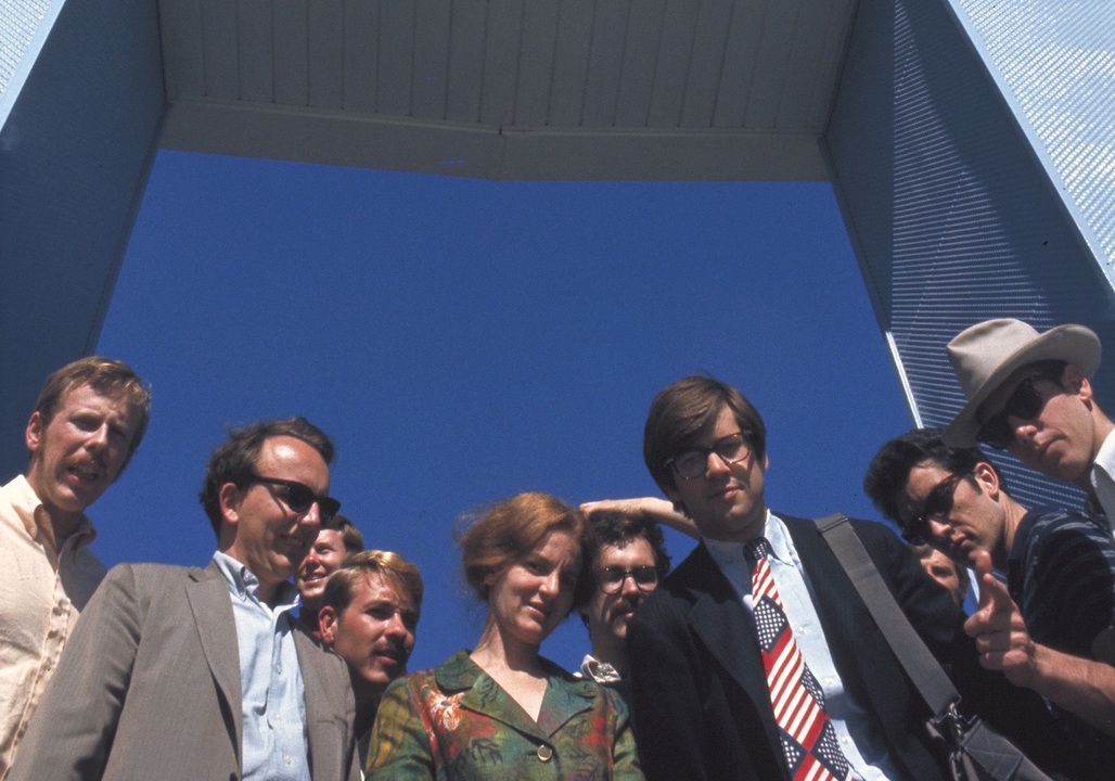 Members of the Learning from Las Vegas' studio at the Stardust. Credit: Venturi, Scott Brown and Associates, Inc'