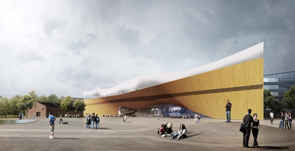 """First Prize: """"Käännös"""" by ALA Architects"""