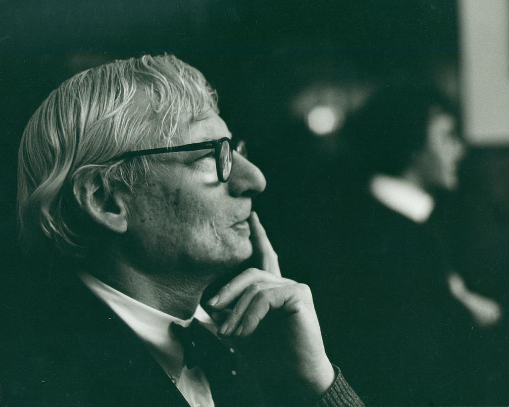 Louis Kahn, ca. 1972. Robert C. Lautman Photography Collection, National Building Museum.