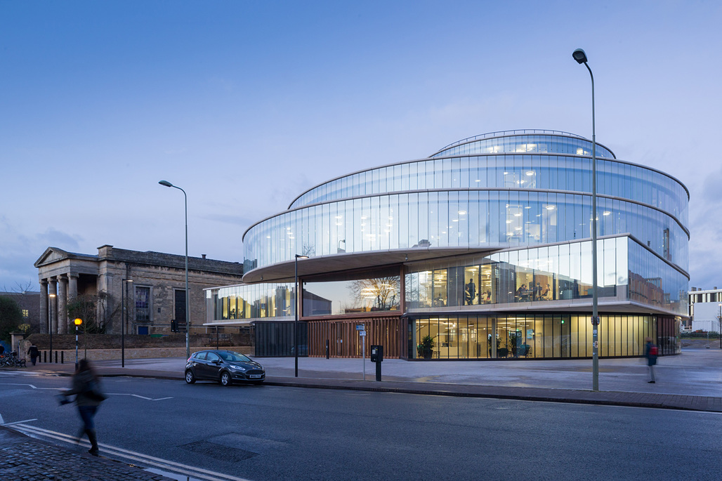 Blavatnik School of Government. Image: Iwan Baan.