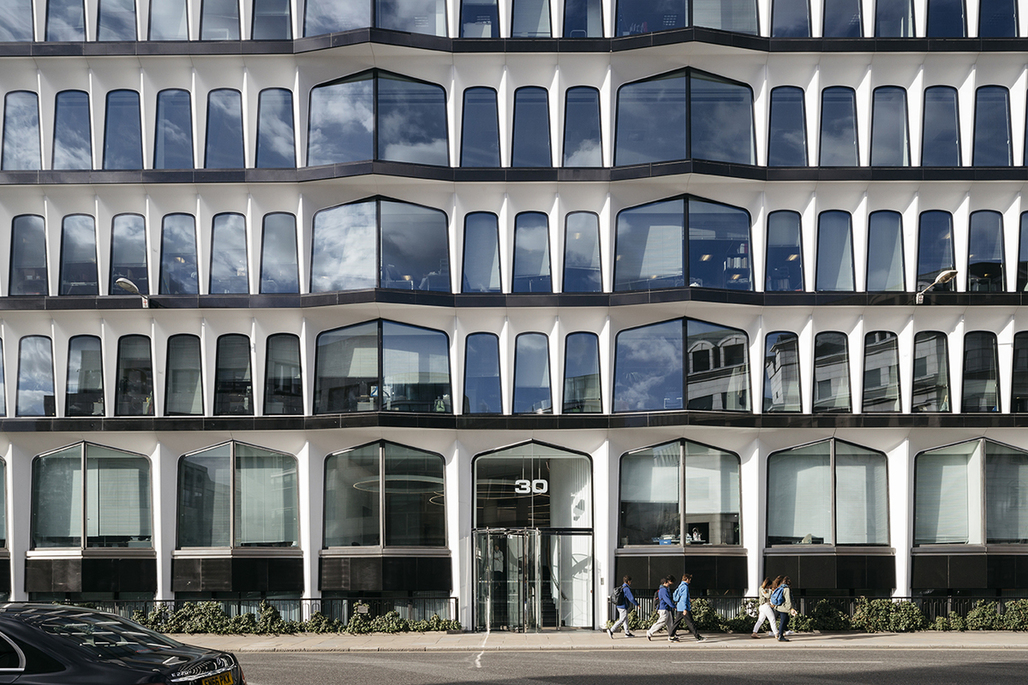 30 Cannon Street by Delvendahl Martin Architects. Photo: Tim Crocker.