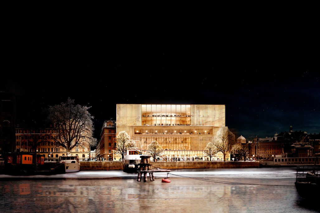 David Chipperfield's winning design for the Nobel Center in Stockholm © David Chipperfield Architects