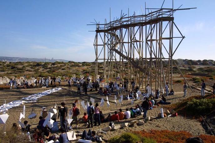 Archivo Histórico Jose Vial, Towers Square, 2003, Open City, Viña del Mar, Chile. Courtesy of Archivo Histórico José Vial, Escuela de Arquitectura y Diseño, PUCV.