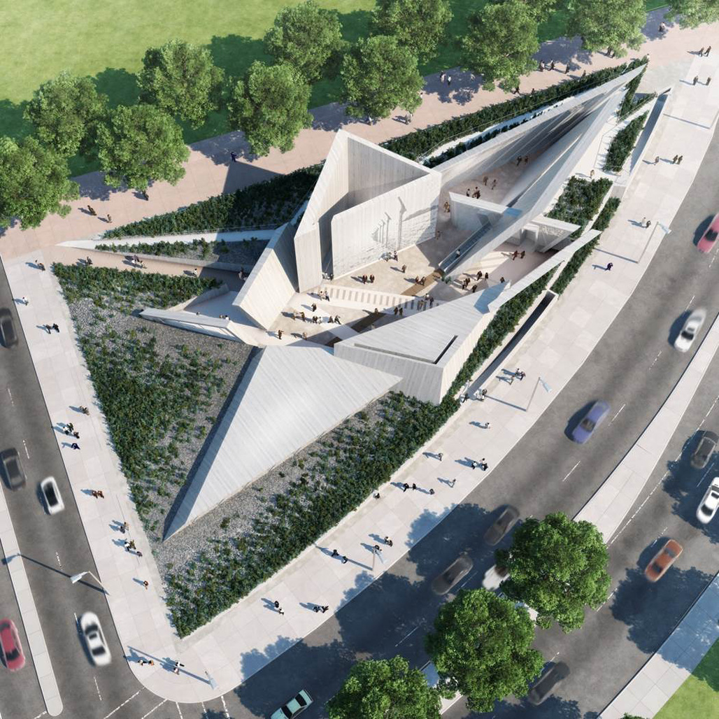 Winning design for Canadian National Holocaust Monument in Ottawa by Team Lord of Toronto. Image courtesy of the Office of the Minister of Canadian Heritage and Official Languages.