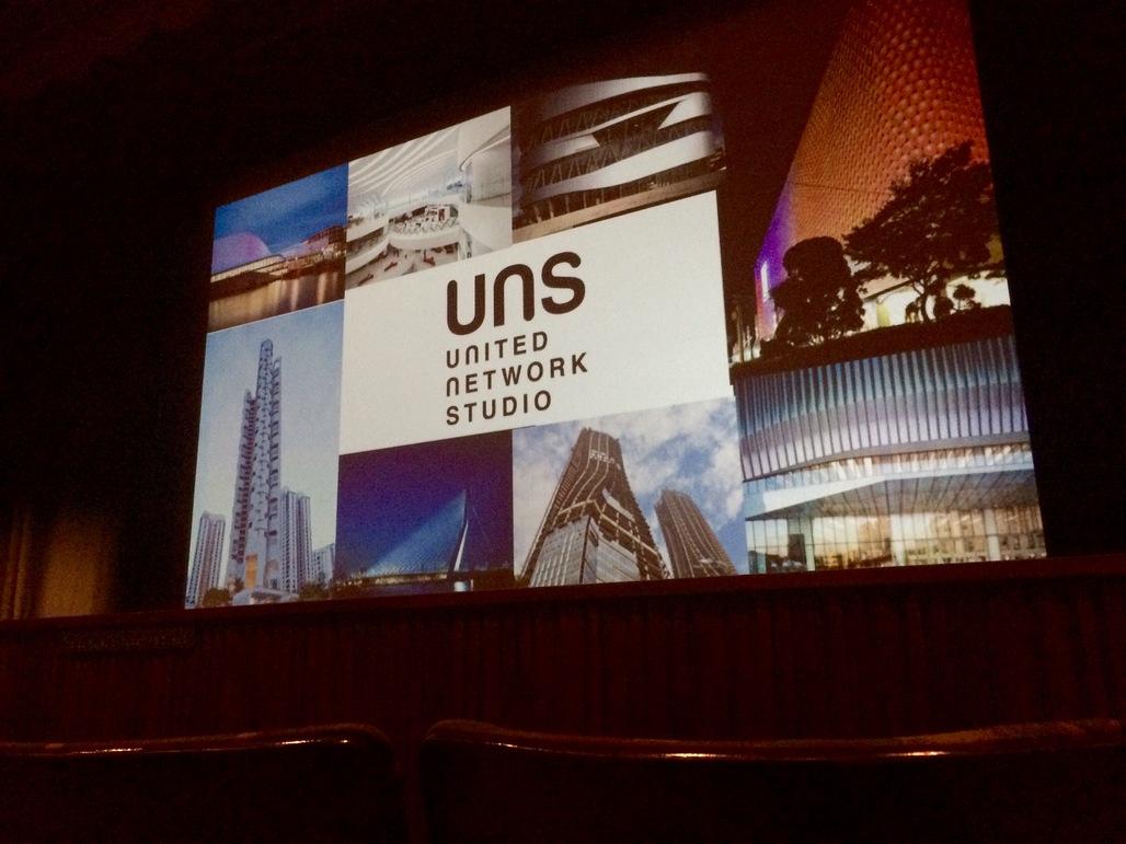 Caroline Bos of UNStudio lectures at LACMA. Photo: Justine Testado.