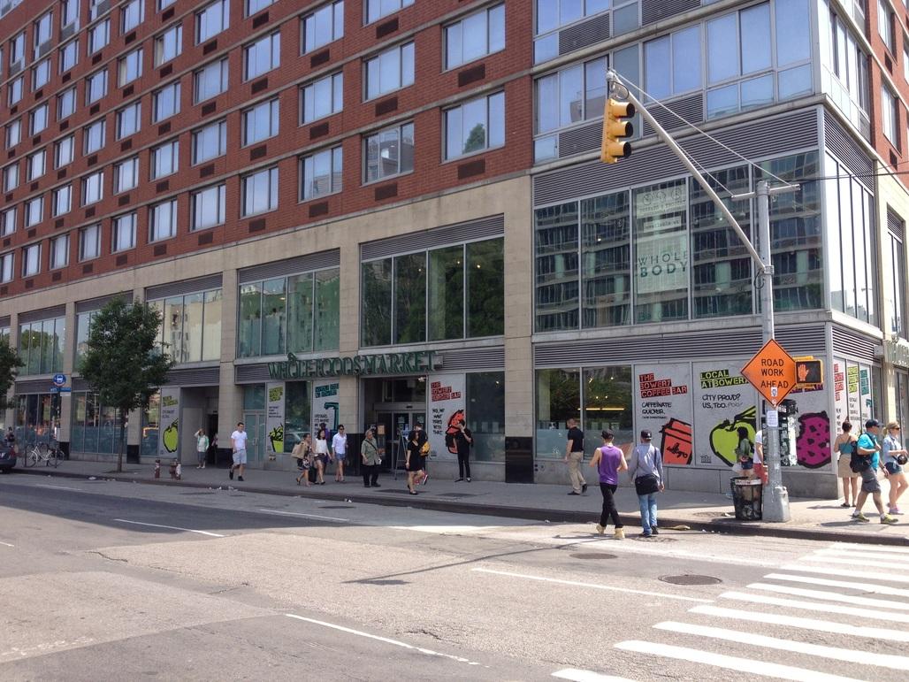The setting for Ellard's experiment, the Whole Foods Market on New York's Lower East Side. Image via wholefoodsmarket.com.
