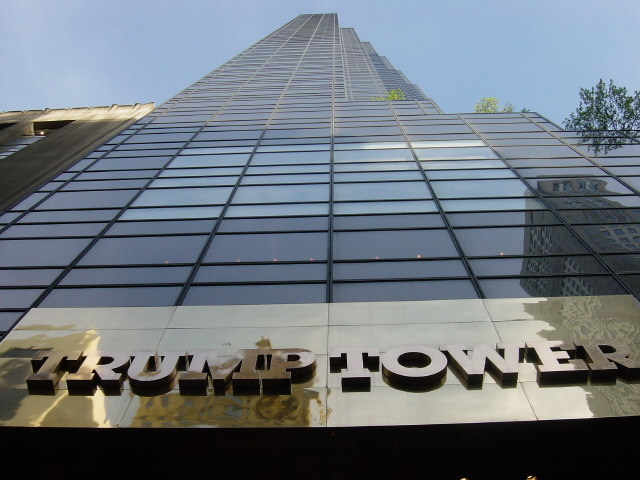 One of Swanke Hayden Connell's key projects was the 1983 Trump Tower on Fifth Avenue in Manhattan. Photo: Kowloonese via Wikipedia