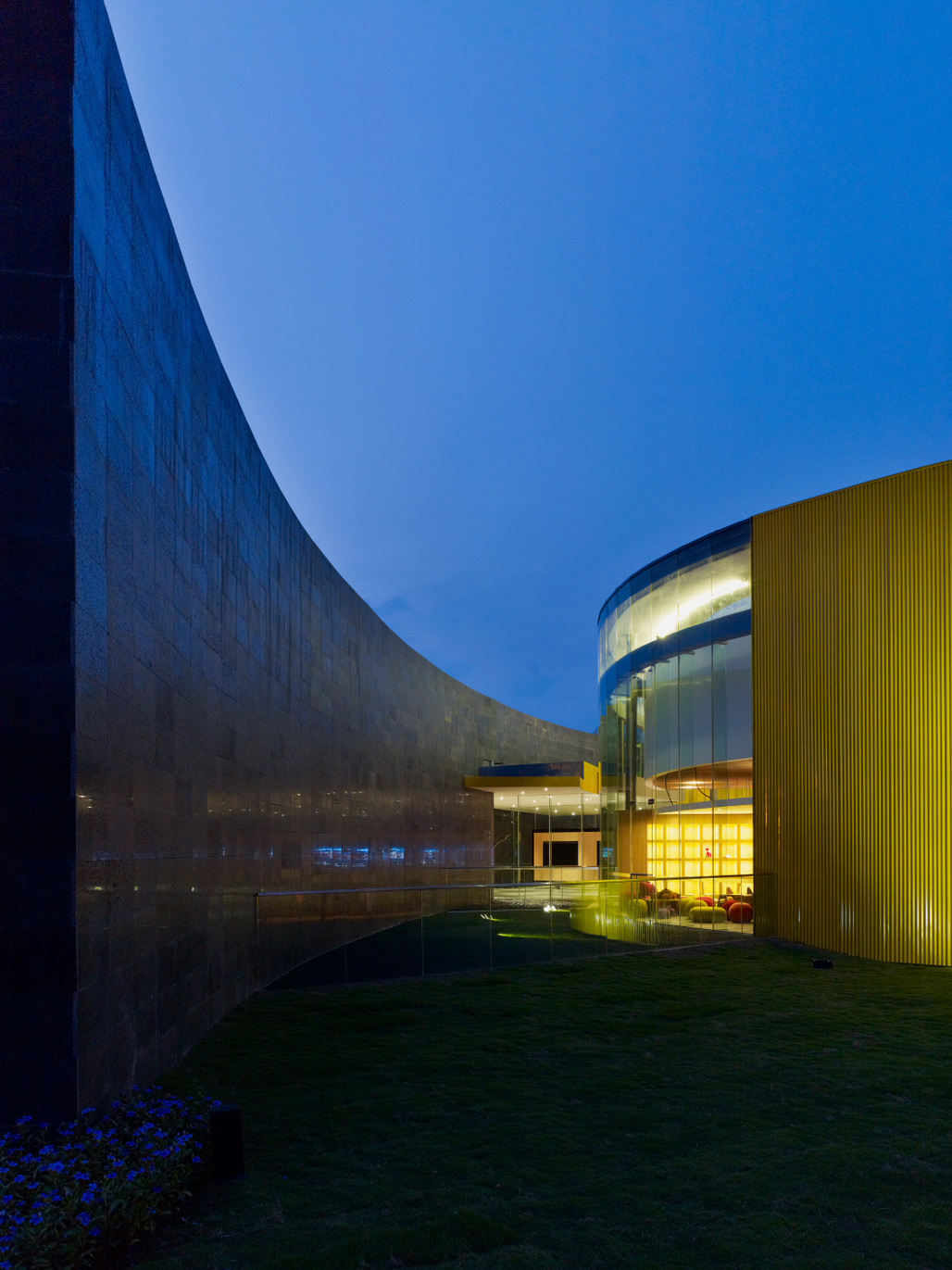 Winner of a Distinguished Building Award from the AIA Western Mountain Region: The Two – Sales Office/Community Arts Center by Line and Space. Photo: Yang Chaoying