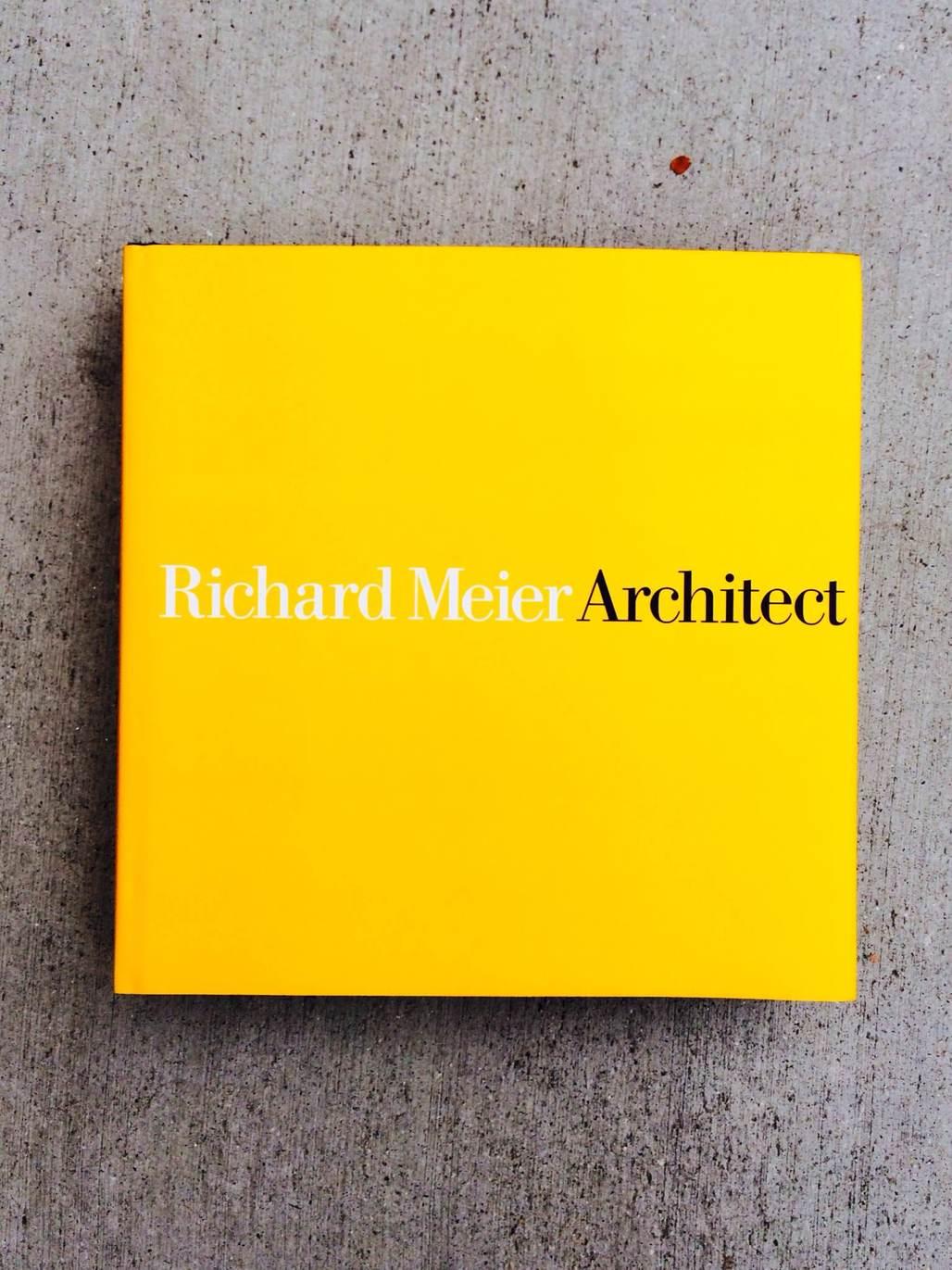 © Richard Meier Architect: Volume 6 by Richard Meier, Rizzoli New York, 2014. Photo by author.