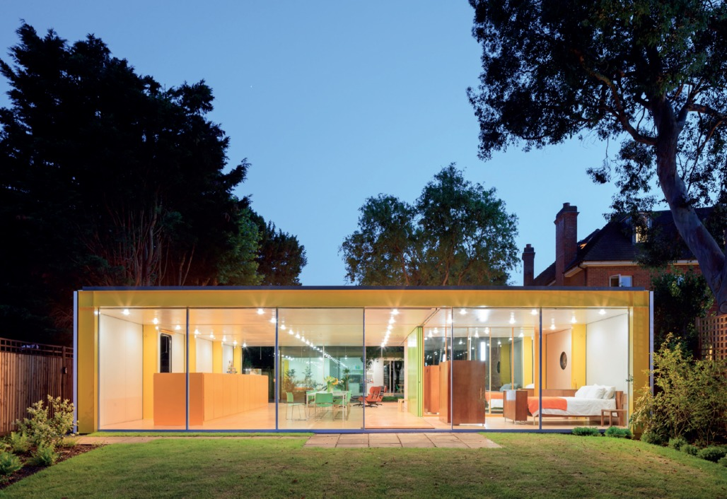 Richard Rogers's Wimbledon House. Photograph by Iwan Baan. Courtesy of Harvard Graduate School of Design.