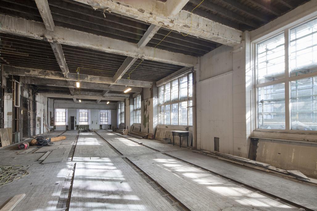 Junior Architecture studio in Spring of 2016 at the Mackintosh Building. ©McAteer