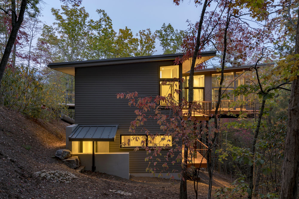 1st prize: Scott Huebner of Asheville for the West Chapel House. Photo courtesy of the 2017 George Matsumoto Prize.