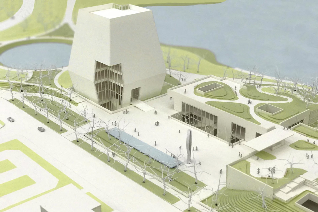 Image via the Obama Presidential Center, credit: Tod Williams Billie Tsien Architects