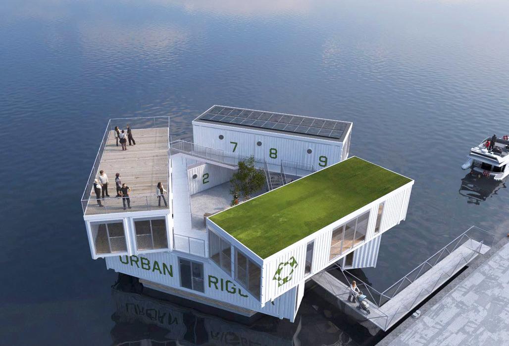 Affordable waterfront property. Image: Urbanrigger.com