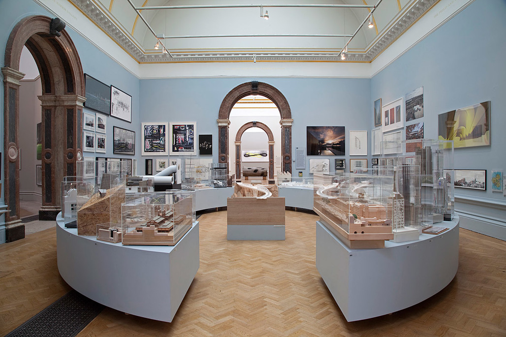 The Architecture Room at the 2011 Royal Academy Summer Exhibition (Photo: Andrew Putler)