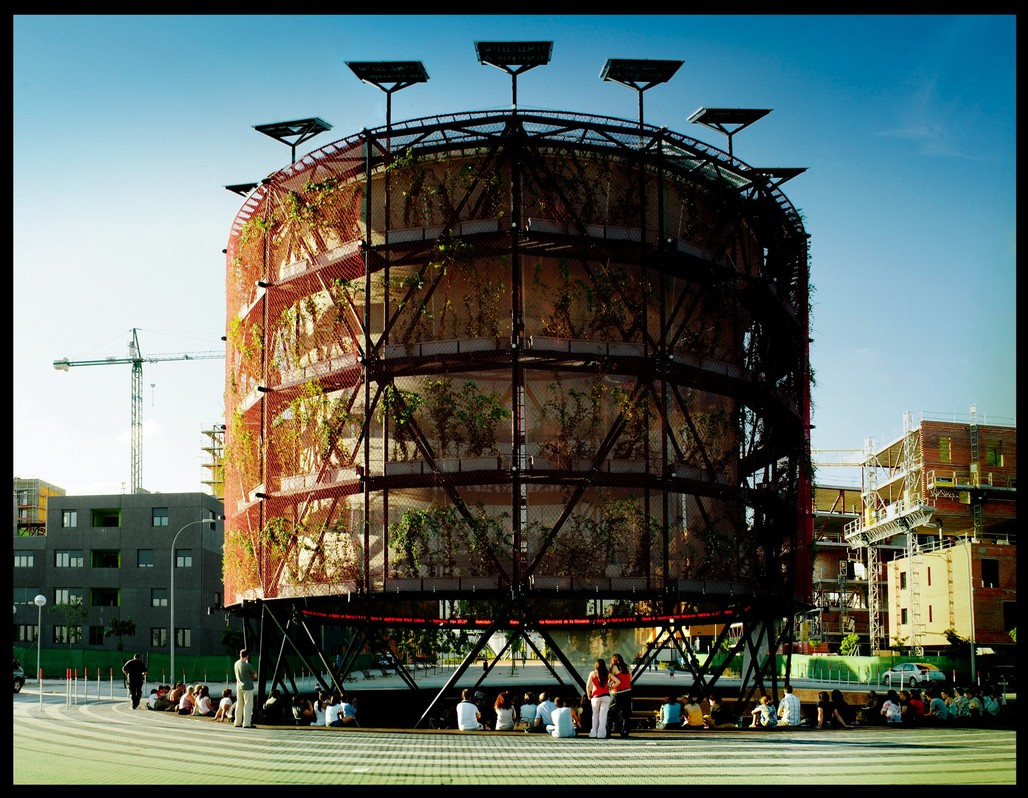 "Ecosistema Urbano, ""Ecoboulevard"" in Madrid, Spain. Photo: Emilio P. Doiztua."