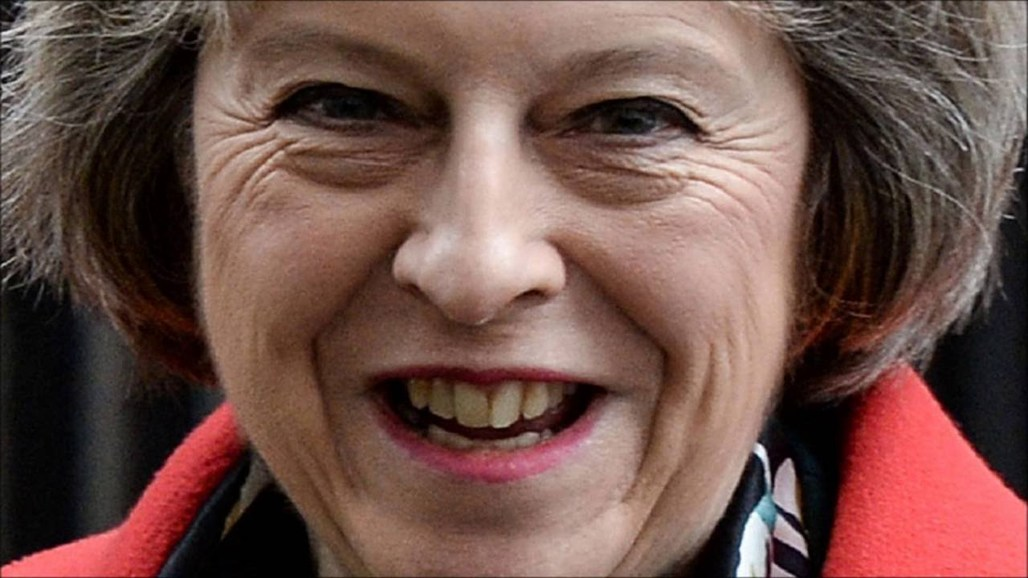Theresa May, the new Prime Minister of the UK, has axed the climate change department. Image via youtube.com